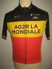 AG2R La Mondiale NAESEN Belgium jersey shirt cycling maillot trikot size L