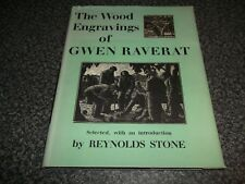 libro. The Wood grabados de Gwen raverat. Reynolds stone. 1º 1959 HB. Art