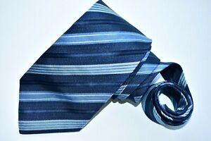 "BANANA REPUBLIC MEN'S TIE NAVY BLUE/STRIPED W:  3.7/8"" L: 57"""