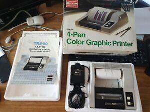 4 Pen Graphic Printer : Boxed TRS-80 Radio Shack Tandy
