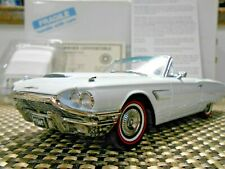 Danbury Mint 1:24 1965 Ford Thunderbird Convertible Diamond Blue