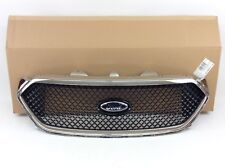 2013-2018 Ford Taurus SHO Front Black Chrome Trim Grille New OEM DG1Z-8200-DC