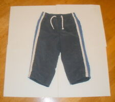 REDUCED! SIZE 18 - 24 MTHS BOYS GYMBOREE WATER RESISTANT LINED WINTER PANTS BLUE