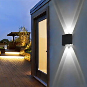 Waterproof LED Wall Lights Up/Down Outdoor/Indoor Room Lamp Sconce Light Lamp