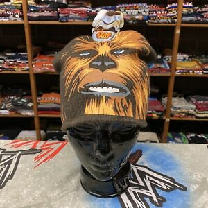 New Star Wars Chewbacca Winter Skull Cap Knit Beanie Hat Sublimated All Over AOP