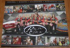 "Jeff Gordon + Mario Andretti ""Racin' Chick"" Indy Car NASCAR postcard"