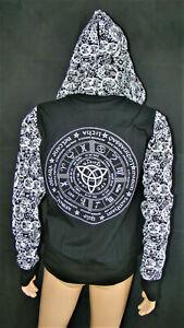 Jacke, Hood, Hoodie, Pentagram, Goth, Metal, Gothic, Dark, EBM, Design, Heavy, M