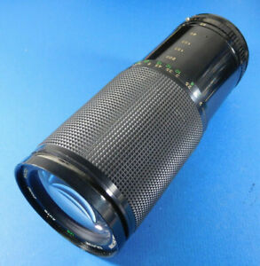 Kalimar Auto Zoom Macro 60-300mm f4-5.6 Lens for Canon FD Mount