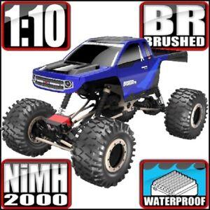 1/10 Electric RC Rock Crawler Redcat EVEREST-10 Blue/Black, New Redcat Crawler