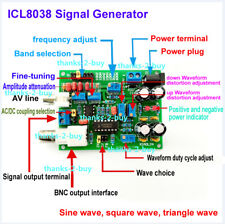Icl8038 Low Frequency Signal Generator Module Sine Square Triangle Wave Sources