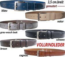 Leather Belt Full Leather Belt Full Leather New Top 35mm Wide Elegant