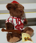 TEDDY BEAR COLLECTION PLUSH TOY ABOUT 18CM SEATED! BASEBALL SOFT TOY KIDS TOY!