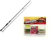 NGT Dynamic Drop Shot Carbon Fishing  Slim Rod  & Berkley 14 pc Drop Shot Kit