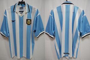 1999-2000 Argentina AFA Football Soccer Jersey Shirt Camiseta Home Reebok 42-44