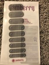 Jamberry Just My Type - So Lovely - Clear - Half Sheet Nail Wraps Manicure