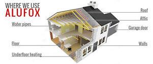 ALUFOX Reflective Foil Insulation- Loft, Roof, Underfloor Heating, Floors 6sqm