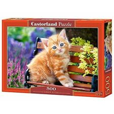 Castorland Jigsaw 500pc -ginger Kitten - Ginger Puzzle 500piece Multicolour