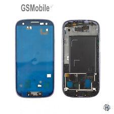 Marco Intermedio Middle Frame Housing Azul Samsung Galaxy S3 I9300