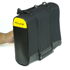 Fluke C789 Large Soft Carrying Case with 3 Compartments, Handle, Strap