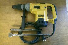 Dewalt D25600 SDS-max Bohr-& Meisselhammer Abbruch-& Stemmhammer + 2x Meißel