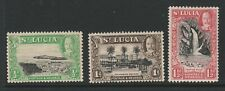More details for st lucia 1936 perf 13 x 12, 12 x 13 set of 3v sg 113a-115a mint.