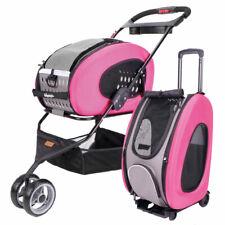 Ibiyaya 5-in-1 Multifunction Combo EVA Pet Carrier/Stroller - Pink