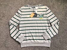 🐍 BN Ladies Harry Potter Slytherin House Striped Jumper! Size Xs 6-8 🐍