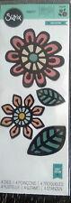 Sizzix Thinlits Intrincado Flores 4 Die establecidas por nativo Artesanía asilo 660499