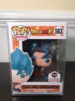 Funko Pop! DBZ SSGSS Goku (Kamehameha) Chalice Collectives Exclusive - Free Ship