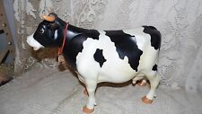 VINTAGE KENNER MARVELOUS MILKING COW 70'S HEAD TAIL MOVES TO PUSH FAUX MILK