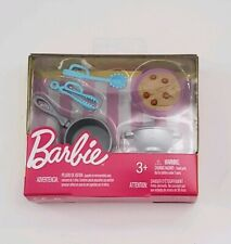 Barbie Doll Spaghetti Dinner Set Pasta Accessories Pack Kitchen Cooking