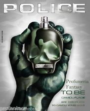 Police Profumi To Be Camouflage All Over Body Shampoo in Tubo ml.400 13.5 Fl.Oz