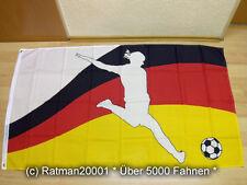 Bandiere BANDIERA donne Calcio Fan - 90 x 150 cm