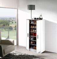 Mueble armario zapatero economico gran capacidad con 6 estantes, 7 huecos BLANCO