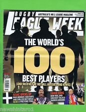 #T32. RUGBY LEAGUE MAGAZINE - WORLD'S 100 BEST PLAYERS