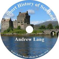 A Short History of Scotland, History Audiobook Andrew Lang on 1 MP3 CD Free Ship