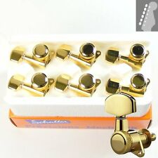 Schaller 2010 M6 Rear Locking tuners/machine heads, 6inline Gold, 10060520