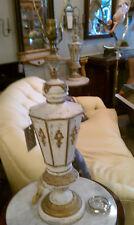 PAIR OF FLORENTINE HOLLYWOOD REGENCY  ITALIAN WOOD & BRONZE MOUNT LAMPS
