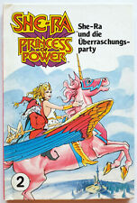 MOTU Buch She-Ra und Überraschungsparty Princess of Power Masters of Universe
