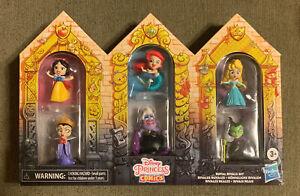 Disney Princess Comic Royals Rival Set Ursula Ariel Aurora Malefic-New-free ship