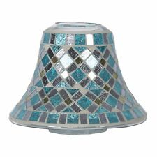 Aromatize Blue Mirror Candle Jar Lamp Fits Yankee or Similar