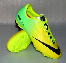 newest 31dec 58dcf Nike JR Mercurial Victory 4 FG 703 Fußball Schuhe 38,5 UK5,5 Neon