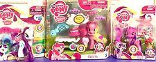 My Little Pony Twilight Sparkle Rarity & Pinkie Pie Pony Wedding Figure Sets LOT