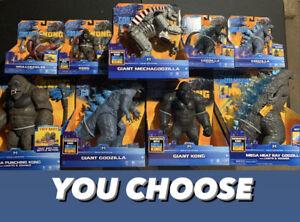 Godzilla Vs Kong- MechaGodzilla Warbat 2021 Movie Battle Toy Figures YOU CHOOSE!