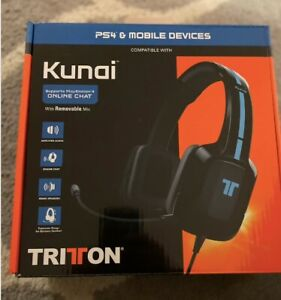 TRITTON Kama - Stereo Gaming Headset/Headphones - PS4/PS Vita/Xbox/Mobile Device