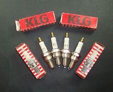 LOT 4 BOUGIES D'ALLUMAGE KLG 707LS AUTO VOITURE CAR SPARK PLUG Tennpluggen OLD