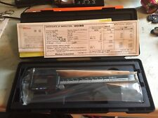 Solar Digital Caliper, Mitutoyo, 500-784CERT
