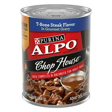 Purina® ALPO® Chop House Dog Food - T-Bone Steak 6 cans
