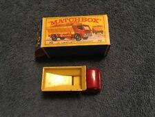 VINTAGE LESNEY MATCHBOX GRIT SPREADER TRUCK #70, FORD, BLACK WHEELS