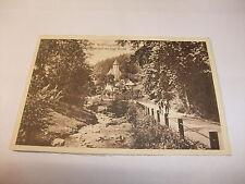 alte Postkarte Ansichtskarte Blick Evgl. Kirche Wölfelsgrund Schlesien vor 1945